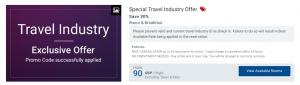 Amari Hotels travel industry price